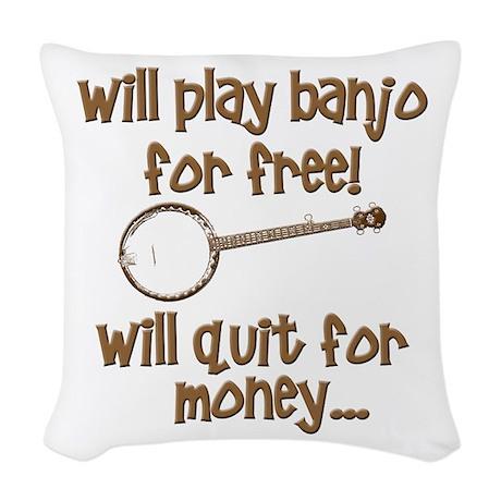 Banjo Woven Throw Pillow