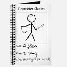 Character Sketch Journal
