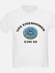 USS Eisenhower CVN 69 T-Shirt