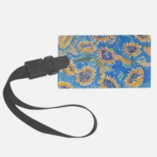 Dance of the Sunflowers Luggage Tag