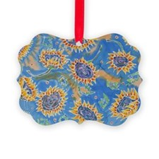 Dance of the Sunflowers Ornament