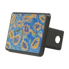 Dance of the Sunflowers Hitch Cover