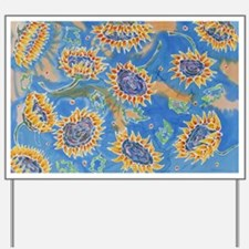 Dance of the Sunflowers Yard Sign