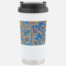 Dance of the Sunflowers Stainless Steel Travel Mug