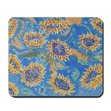 Dance of the Sunflowers Mousepad