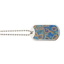 Dance of the Sunflowers Dog Tags