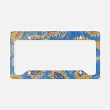 Dance of the Sunflowers License Plate Holder