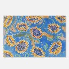 Dance of the Sunflowers Postcards (Package of 8)