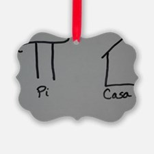 Picasso Pi + Casa = Picasa  Ornament