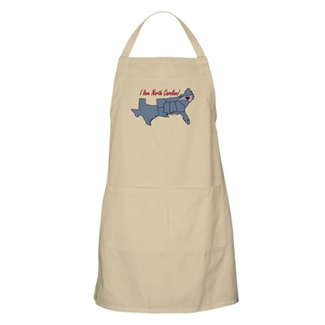 North Carolina-South BBQ Apron
