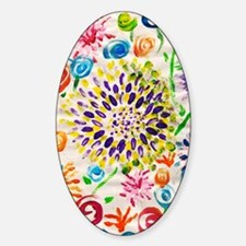 Picasso Flower Paper Decal