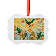 Hummingbirds Ornament