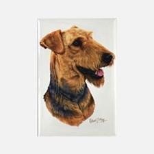 Airedale Terrier Rectangle Magnet