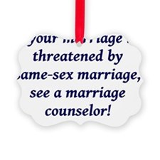 Marriage counselor Ornament