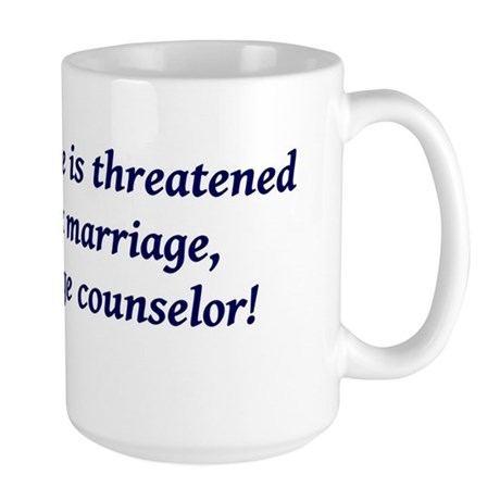 Marriage counselor Large Mug