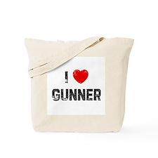 I * Gunner Tote Bag