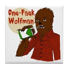One-Pack Wolfman Tile Coaster