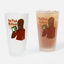 One-Pack Wolfman Drinking Glass