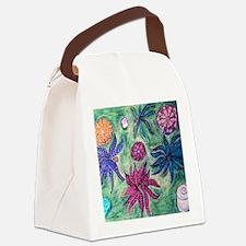 Picasso Male Flower Garden Art Canvas Lunch Bag