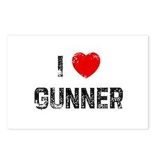 I * Gunner Postcards (Package of 8)