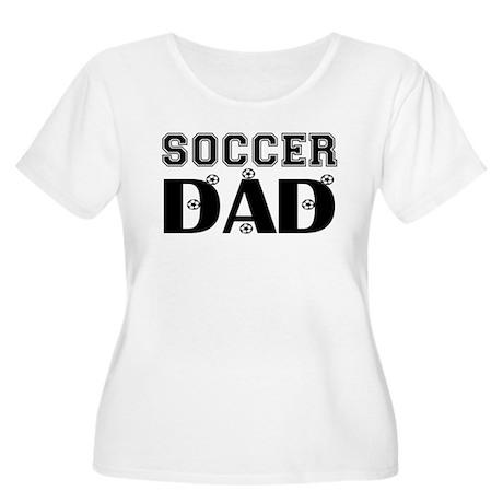 Soccer Dad Women's Plus Size Scoop Neck T-Shirt