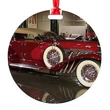 Big Red Car Ornament
