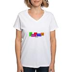Born to Crop Women's V-Neck T-Shirt