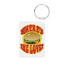 Wheres the Love? Cheesebur Keychains