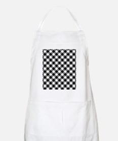 Black Gingham Apron