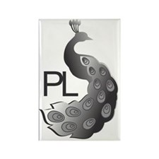 Peacocks Limited Rectangle Magnet