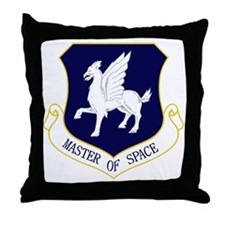 50th SW - Master of Space Throw Pillow