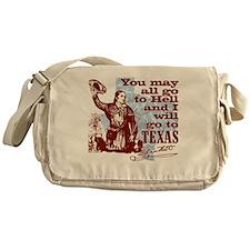 Davys Gone To Texas Messenger Bag