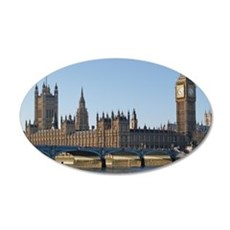 London 35x21 Oval Wall Decal
