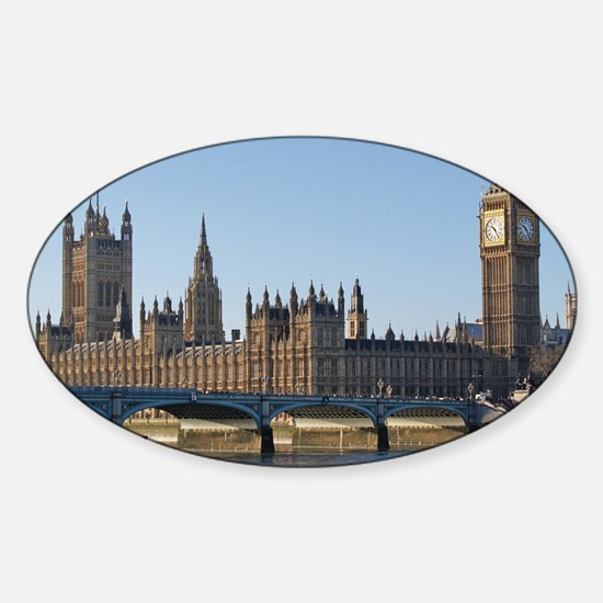 London Sticker (Oval)