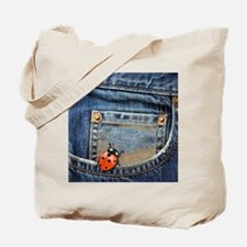 Buggy  Jeans Tote Bag
