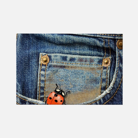 Buggy  Jeans Rectangle Magnet