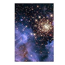Celestial Fireworks 2 Postcards (Package of 8)