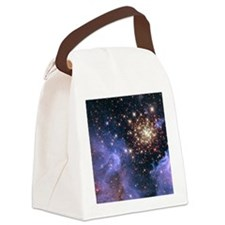 Celestial Fireworks 2 Canvas Lunch Bag