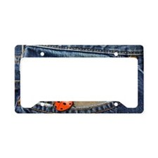 Ladybug Jeans License Plate Holder