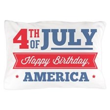 Independence Day Pillow Case