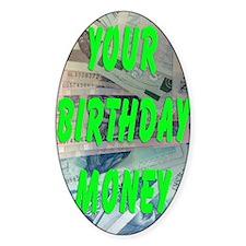 Polish Loti Birthday Money Decal