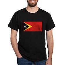 East Timor Leste Flag T Shirt T-Shirt