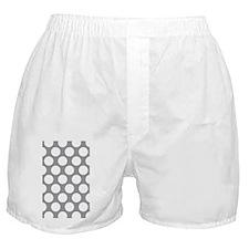 Pebble Grey Polkadot Boxer Shorts