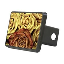 Golden Roses Hitch Cover