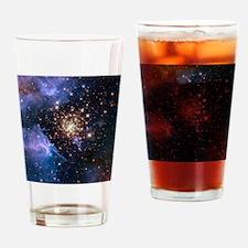 Celestial Fireworks Drinking Glass