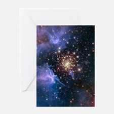 Celestial Fireworks Greeting Card
