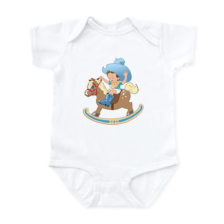 Baby on Rocking Horse Bodysuit