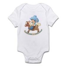 Baby on Rocking Horse Bodysuit