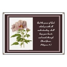 Constans Hibiscus - God Give You Peace - Ph Banner