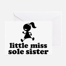 LIttle Miss SS Greeting Card